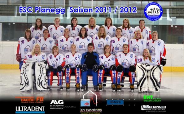 Eishockey 2011-12 ESC Planegg-Würmtal Mannschaftsfoto_2011s. Foto: ESC Planegg-Würmtal.