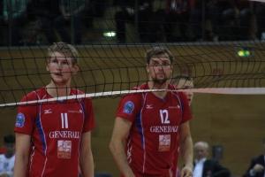 Volleyball 2012-13 Generali Haching Champions League Asse-Lennik H 001. Foto: BLOGpunkt Sport.