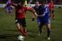 Fußball 2014-15 SpVgg Unterhaching Großaspach A Fabian Götze (re.) und Danilo Dittrich (mi.). Foto: Robert M. Frank.
