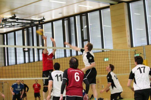 Volleyball TV Planegg-Krailling Herren Landesliga; Foto: TV Planegg-Krailling.