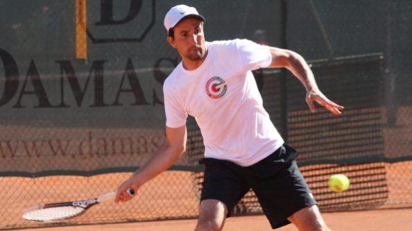 Tennis 2016 TC Großhesselohe (H30) Dominik Hansen2