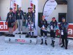 Deutsche Meisterschaft Saalbach_Siegerehrung Linus STrasserFoto: Skiverband München (SVM)